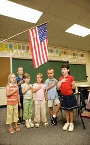 pledge of allegiance in schools