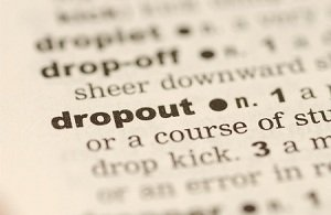 high school dropout rate