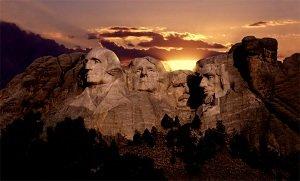 rushmore mountain presidents