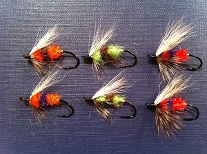 multicolored hooks