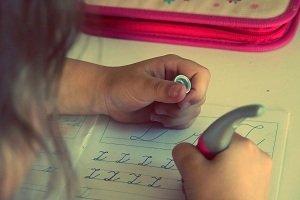 pisanie dzieci