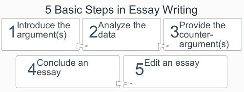 basic steps in essay writing